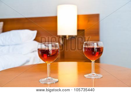 Two Glass Wine To Drink