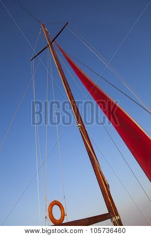On A Yacht Board