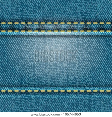 Seamless jeans texture