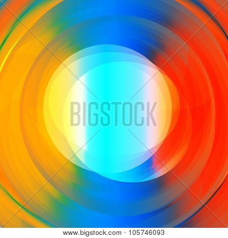 Abstract Colorful Vortex Text Holder