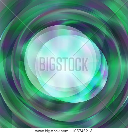 Abstract Circle Text Notice