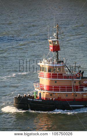 Dean Reinauer Tugboat