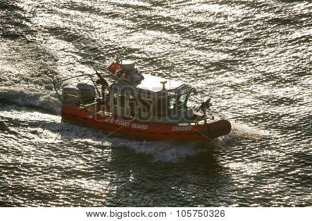 Coast Guard Powerboat