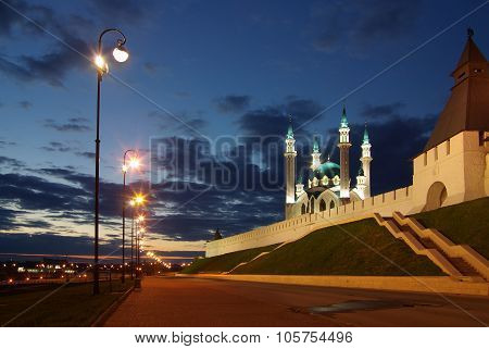 Qol Sharif Mosque In The Kazan Kremlin