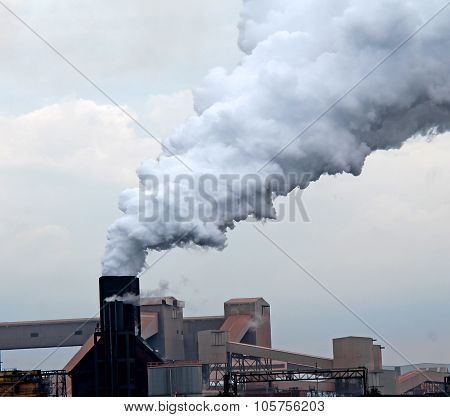 Industrial Chimney.