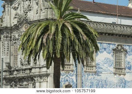 Europe Portugal Porto Ribeira Old Town Church