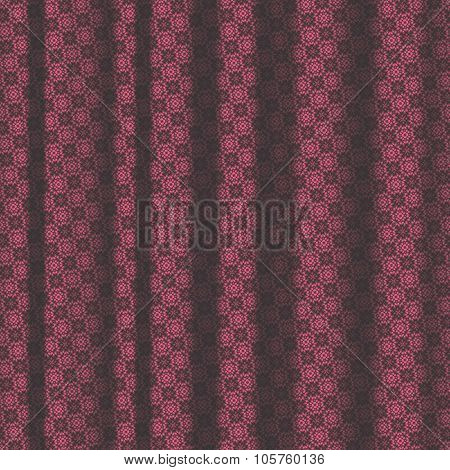 Maroon Color Pattern Drapery Seamless Background Texture.