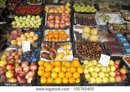 Europe Portugal Porto Market Mercado Do Bolhao