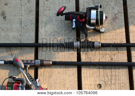 Fishing Spinning Rods And Reels