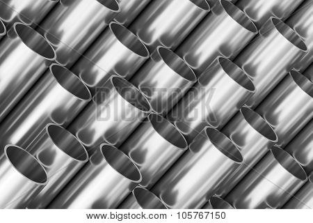 Shiny Steel Pipes