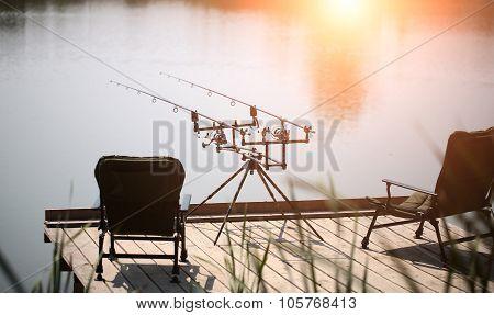 Sportfishing At River