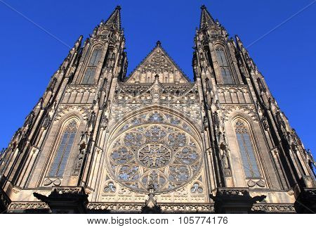 St. Vitus Cathedral In Prague Castle