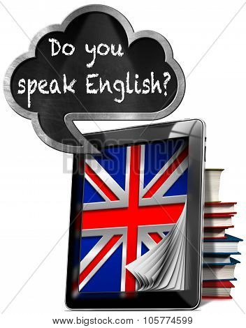 Do You Speak English - Tablet And Cloud