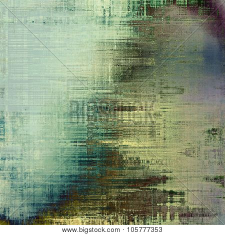 Ancient grunge background texture. With different color patterns: yellow (beige); brown; blue; green