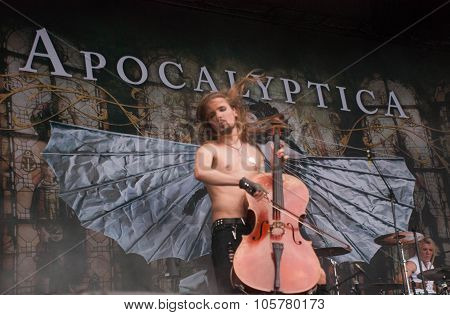 Apocalyptica live at Soundwave Festival, Brisbane 2015