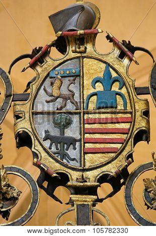 Coat Of Arms At Burgos Cathedral