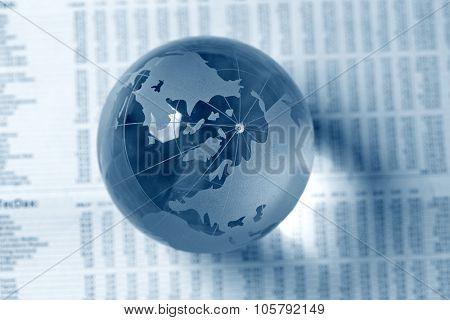 glass globe ball