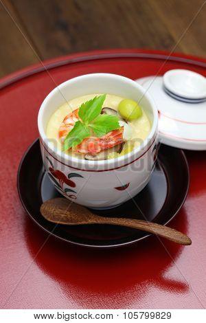 chawanmushi, steamed egg custard, japanese food
