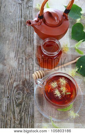 Herbal Tea With Linden And Honey
