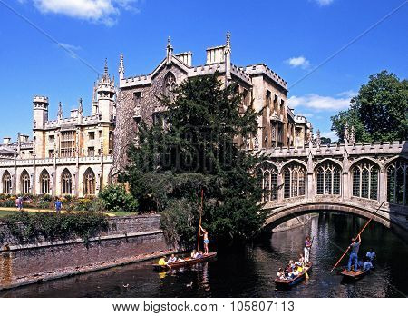 St Johns College, Cambridge.