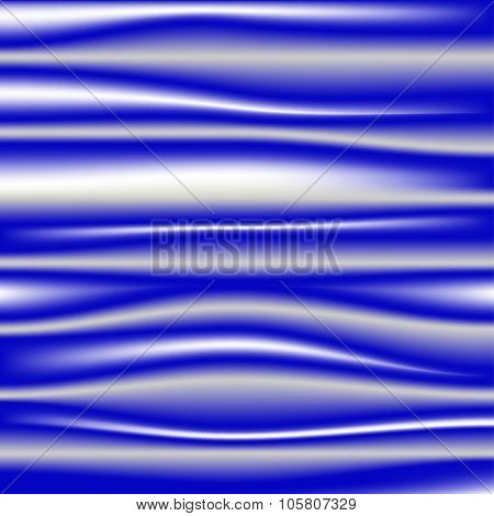 Dark blue silk drapery textile background
