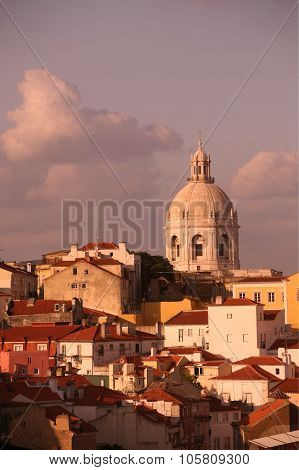 Europe Portugal Lisbon Alfama Church Igreija De Santa Engaracia