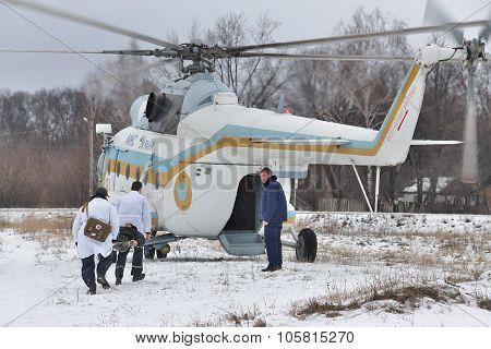 Mil Mi-8 Medevac