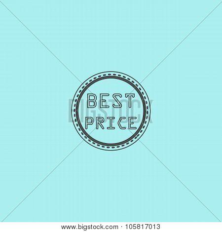 Best Price Icon, Badge, Label or Sticker