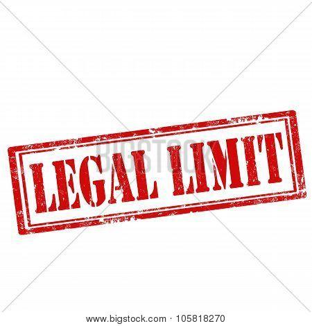 Legal Limit-stamp