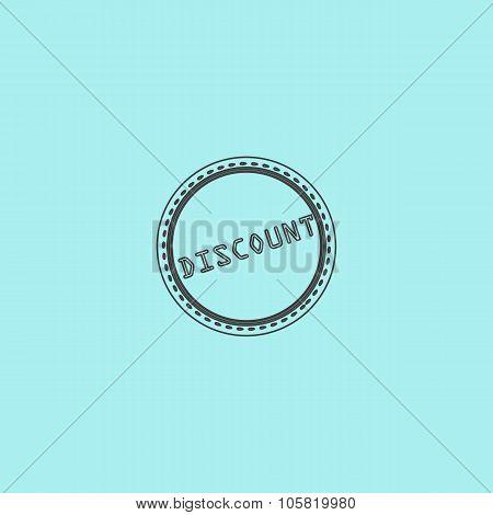 Discount Icon, Badge, Label or Sticker