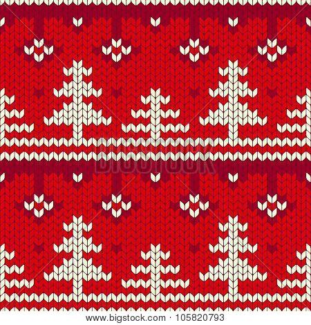 Christmas Seamless Knitting Pattern