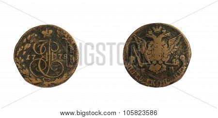 five kopecks 1778.