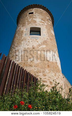 Castle At Cornella Del Terry, Catalonia, Spain
