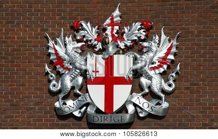City of London's arms