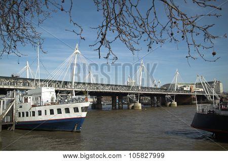 Golden Jubilee Footbridges