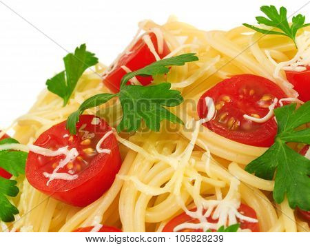 Pasta Collection - Spaghetti With Cherry Tomatoes