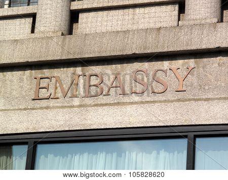 Embassy Sign