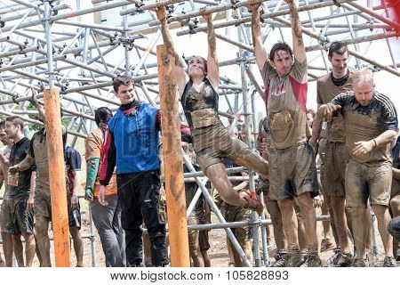 Tough Muddger 2015: Tight Lipped