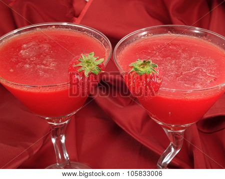 Cocktails Collection - Strawberry Daiquiris