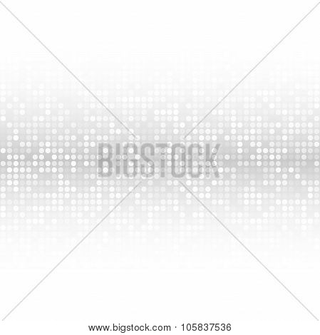Abstract Gray Technology Cover Background