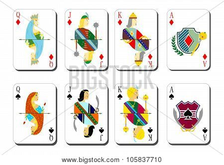 cards for play bubi peaks