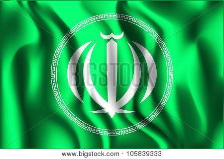 Iran Variant Emblems. Rectangular Shape Icon