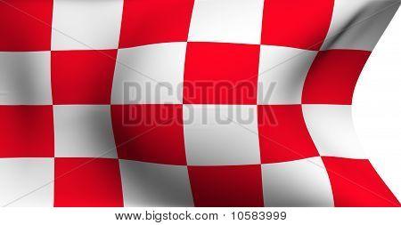 Flag Of North Brabant, Netherlands