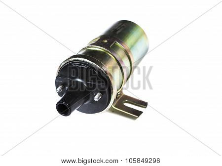 the igniter coil isolated on white background