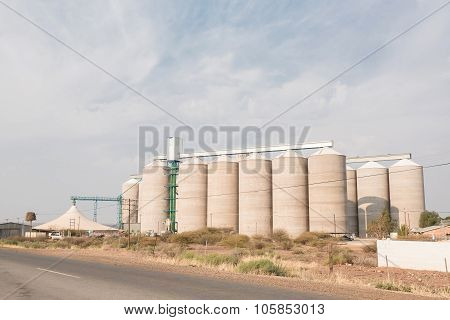 Grain Silos At Prieska