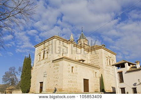 Santa Maria Church, Alhambra, Granada, Spain