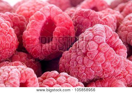 Delicious Frozen Raspberries