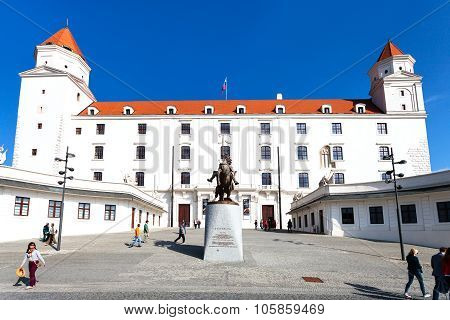 Honorary Courtyard Of Bratislava Castle