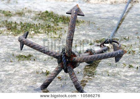 Zanzibar, Nungwi: anchor