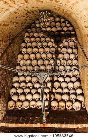 Vault Of The Ossuary Of St James Church, Brno